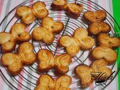 Palmeritas mariposa de hojaldre @RecetasHuga Strudel, Biscuits, Kiss The Cook, Cute Food, Cakes And More, Pretzel Bites, Kids Meals, Sweet Recipes, Brunch