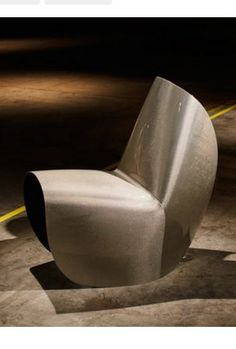 Zaha Hadid's folded Kuki chair redesigned using carbon fibre
