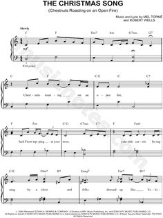 easy christmas songs for piano - Google Search