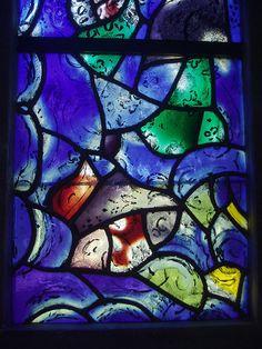 Chagall Glass, Tudeley #Jewish #art #marc-chagall #marcchagall #MarcChagall #stainedglass