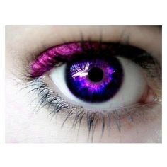(2) Dark Purple Eye Contacts found on Polyvore featuring eyes, makeup,... ❤ liked on Polyvore featuring beauty products, makeup and eye makeup