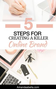 We're living in a time where business owners need to add a human element to their brand in order to succeed. But, there is a lot of confusion about what branding actually is. So here are my 5 steps for creating a killer online brand.