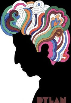 { Bob Dylan by Milton Glaser - 1976 } One of the best desinger posters ever created.