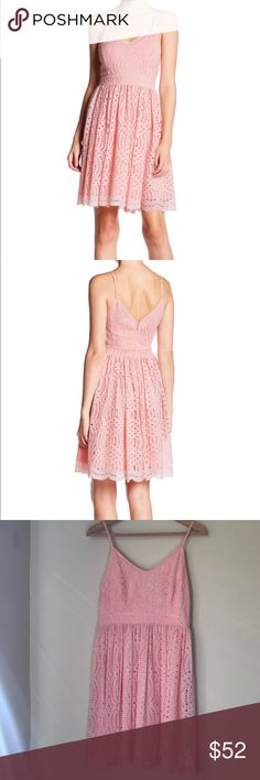Beautiful pink dress Beautiful pink Devlin dress from Nordstrom size S Great for prom, weddings, homecoming.  Offers welcome Dresses
