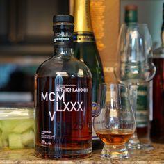 Review 186: Bruichladdich 25yr. 1985 MCMLXXXV DNA3 #scotch #whisky #whiskey #malt #singlemalt #Scotland #cigars