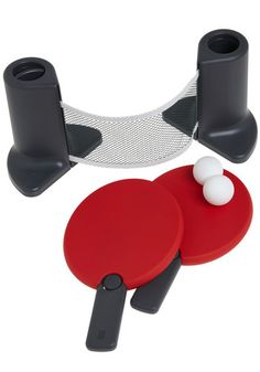 portable table tennis set!