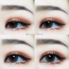 Korean makeup tips - You can improve the look of your eyebrows overnight. This makes your eyebrows look shiny and. Be certain to never get vaseline on every other element of your face, because it can result in unwelcome breakouts of pimples. Korean Makeup Look, Korean Makeup Tips, Korean Makeup Tutorials, Asian Makeup, Makeup Goals, Makeup Inspo, Beauty Makeup, Hair Makeup, Makeup Hacks