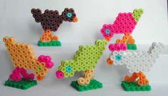 Chicken Nabbi perler beads by Emos Pärlkonst