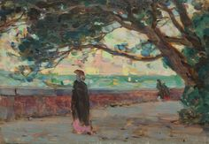 lilithsplace:  'View of the Public Gardens', c. 1905 - Clarence Gagnon (1881–1942)source: