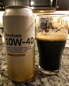 Hi-Wire Brewing 10W-40 Horchata Imperial Stout #craftbeer #beershots #beerporn #instabeer #drinklocal #drinklocalnow #brewpon #CraftLifestyle #hiwirebrewing @hiwirebrewing Horchata, Craft Beer, Brewing, Alcohol, Wire, Community, Chocolate, Rubbing Alcohol, Schokolade
