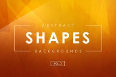 Abstract Shapes Backgrounds Vol. 2 by M-e-f