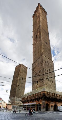 Leaning Towers of Bologna -  Emilia-Romagna Italy