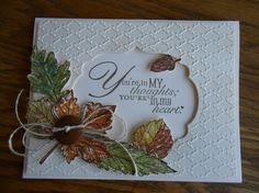 SU! Gently Falling stamp set - Linda Creech