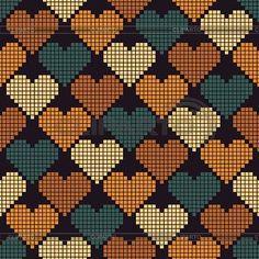 Wayuu Mochilla Taschen-Diagramm - Yurdagul Yesilbursa - tot de Als - Wayu . click picture for Knitting Charts, Knitting Stitches, Knitting Patterns, Pixel Crochet, Crochet Chart, Tapestry Crochet Patterns, Loom Patterns, Cross Stitching, Cross Stitch Embroidery