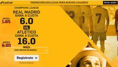 el forero jrvm y todos los bonos de deportes: betfair Real Madrid vs Atletico supercuota 6 o 16 ...