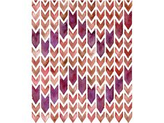 Chevron Repeat, by Sasha Prood  With rubber stamps? Carve my own and create a background? Hmm.. Endless possibilitites!