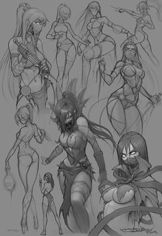 Girl character sketch designs fresh mileena mk fanart fansketch by boris dyatlov on deviantart stock of Art Poses, Drawing Poses, Drawing Sketches, Art Drawings, Female Drawing, Character Concept, Character Art, Concept Art, Female Character Design