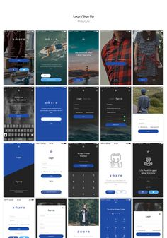 Aware Mobile UI/UX Kit on Behance                              …