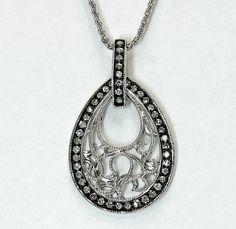4.20CT Halo Ruby Double Heart Gemstone Pendant /& Necklace14K White Gold