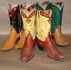 Rusty Franklin boots, San Angelo, Tx.