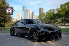 2003 Black Nissan 350Z Twin Turbo picture, mods, upgrades