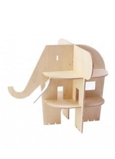 an elephant doll house? a little bit strange, but very cute.