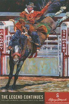 calgary stampede poster 2009