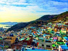 Gamcheon Culture Village Busan, S.Korea