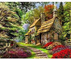 Rural Landscape VanGo™ Paint-By-Number Kit