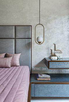 Bed Headboard Design, Bedroom Bed Design, Bedroom Furniture Design, Home Room Design, Headboards For Beds, Bed Furniture, Bedroom Decor, House Design, Design Homes