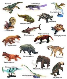 Prehistoric Animals Toys | Recent Photos The Commons Getty Collection Galleries World Map App ...