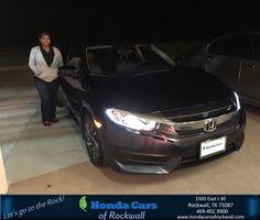 Congratulations Shirley on your #Honda #Civic Sedan from Kiara Campos at Honda Cars of Rockwall!  https://deliverymaxx.com/DealerReviews.aspx?DealerCode=VSDF  #HondaCarsofRockwall