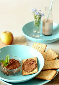A healthy chocolate hummus recipe that is great for summer and guilt free snacking. This is hummus without tahini.