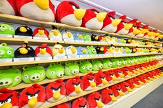 All the Angry Birds characters you know and love...