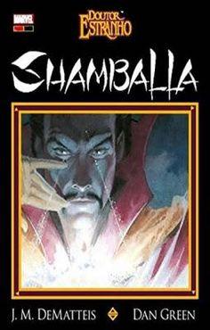 doutor-estranho-shamballa panini, 2016, J. M. Dematteis, edição de luxo, marvel, capa dura, 64 páginas, nova e lacrada, Baú Comic Shop: Quadrinhos, Mangás e Livros Geek