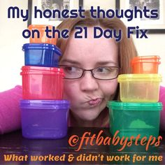 My honest thoughts on the 21 Day Fix