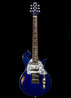 Deep blue electric guitar Artist Guitars Australia - http://www.kangabulletin.com/online-shopping-in-australia/artist-guitars-australia-the-home-of-guitar-enthusiasts/ #artist #guitars #australia electric guitars sydney, electric acoustic guitar for sale and guitar free