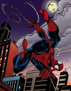 spiderman_by_mark_bagley_by_luzproco-d4spc96
