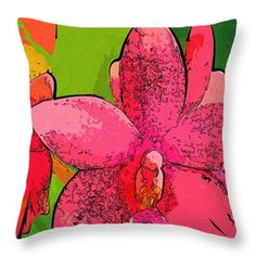 Flowers Arts Pictures Throw Pillow  #flowers #art #poster #gifts