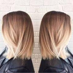 cool balayage medium straight hair - Google Search...