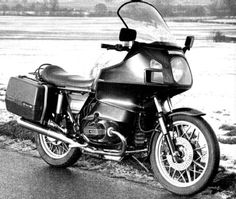 The original BMW R100 RT by The Wrenchmonkees