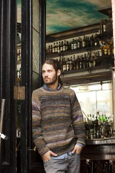 what is it with knitting mags like Noro Magazine & these cute young bearded models, eh?