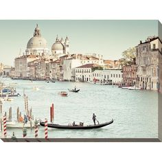 Perfect Grand Canal' Giclee Stretched Canvas Wall Art