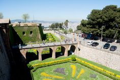 Montjuic Castle (great view, hisotory of the Catalonia regiona, cheap entry, cable car to the top) - Barcelona, Spain