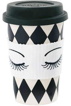 Kaffeebecher Bambus Eyes Miss Etoile