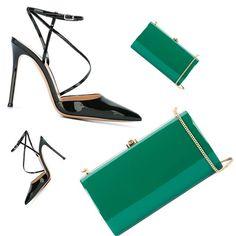 Friday's Goals 💚🍀👠👝👠🍀💚 @gianvitorossi .  .  .  #stpatricksday #greenery #greenday #eyefitu #youshopwesize #accessories #accessorize #heels #clutch #friday #friyay #essentials #nightout #rocio #gianvitorossi #pumps #pumpshoes #greenfriday Pump Shoes, Pumps, Greenday, My Size, Night Out, Essentials, Friday, Goals