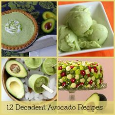 Avocado recipes from Facebook of MB THINGS I KNOW. Find on Timeline album.