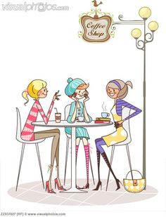 Coffee Shop #clipart #patterns #colored #paintpatterns #designs