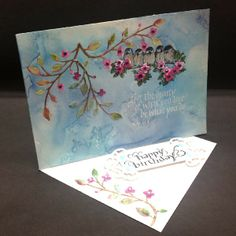 Combining watercolor/die cuts and Quietfire Design calligraphy quotes/sentiment  http://www.yogiemp.com/HP_cards/MiscChallenges/MiscChallenges2014/MCFeb14_SideEasel_LetTheBeauty_HB.html