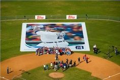 Topps | Largest Baseball Card | Prince Fielder | Lakeland, FL    Synergy Events